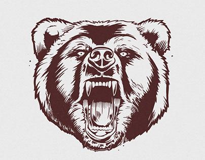 Black Grizzlies tee