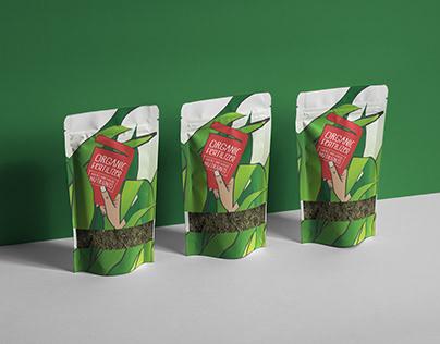 Packaging concept for organic fertilizer