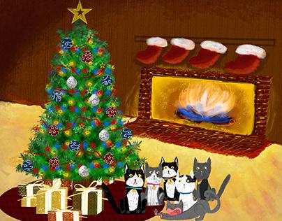 Christmas Cats 2019