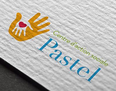 Logo Centre social Pastel