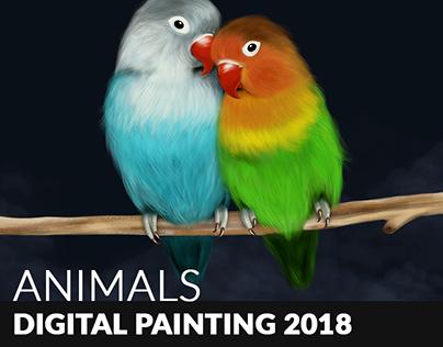 My animals - Digital painting