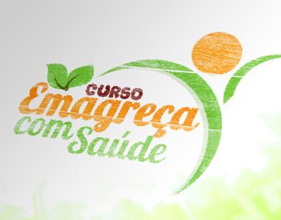 Logomarca Curso Emagreça com saúde