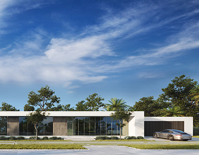 Flat house in Miami, Florida.