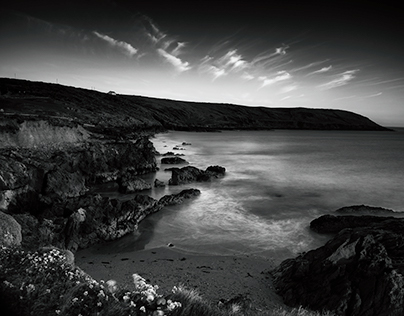 Black and White Seascapes