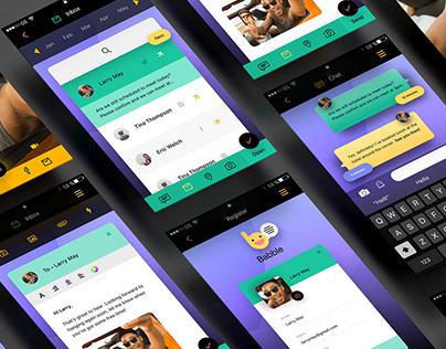 Social App Concept UI/UX