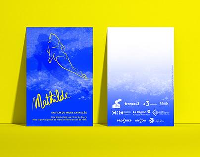 "Affiche de film ""Mathilde"""