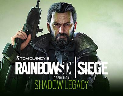 Rainbow Six Siege: Operation Shadow Legacy Key Art