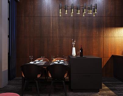 Interior design Esper Club