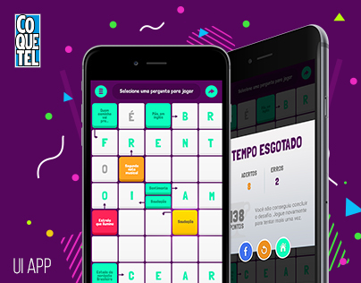 Game Coquetel Magazine's Crosswords - Palavras Cruzadas