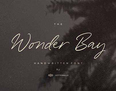 The Wonder Bay Font