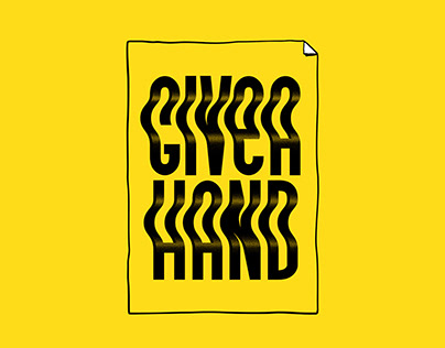 GIVE A HAND - Print Edition