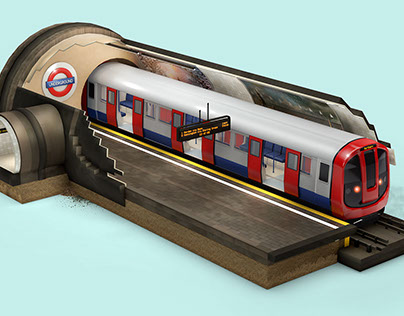 London Underground Infographic