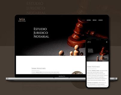 Diseño web - Estudio contable, Mendez&Attún