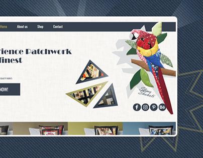 Patchwork website design