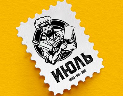 Logo for food shop