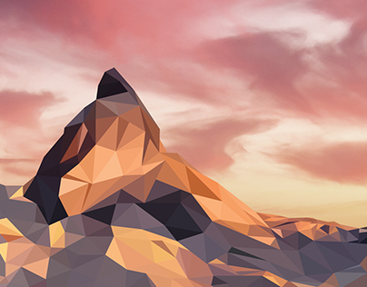 Maternhorn sunset