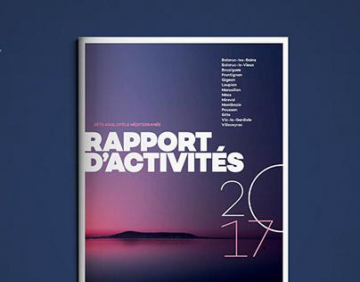 Sète 2017 Annual Report - Editorial Design