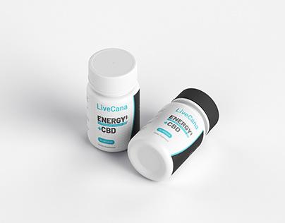 Premium CBD balm packaging redesign