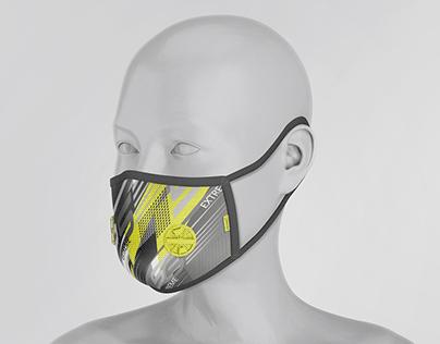 Face Respirator Mask Mock-Ups Vol.1