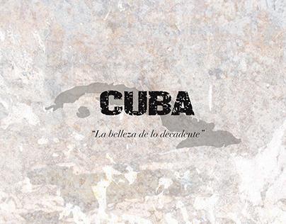 """CUBA """"la belleza de lo decadente""""_Womenswear Collection"""