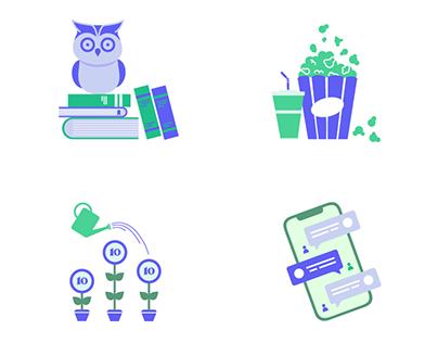 Various UX Illustrations