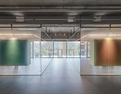 Visual Exchange Office/ Waterform Design