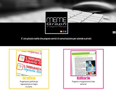 progetto sito web Meme Graph