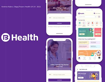 Bajaj Finserv Health UX/UI Case Study