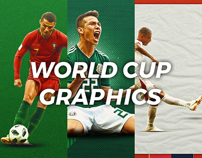 World Cup 2018 - Graphic Designs