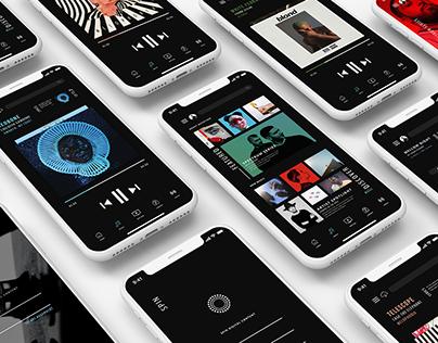Spin Music App UX | UI