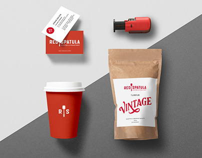 Visual Identity for Red Spatula Coffee & Roastery