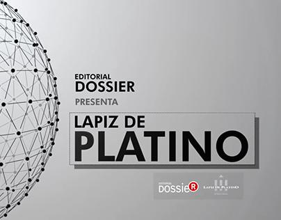 LAPIZ PLATINO 2014