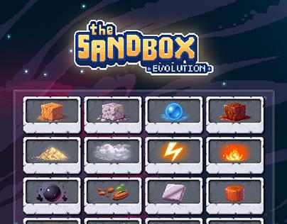 The Sandbox Evolution (UI & Illustrations)