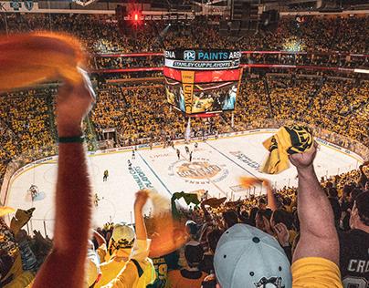 Penguins Arena Signage
