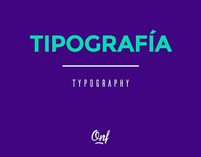 Tipografía // Typography
