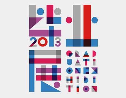 Graduation Design Exhibition poster design