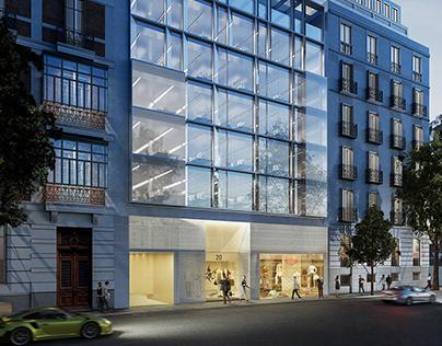 Edificio de oficina en Madrid
