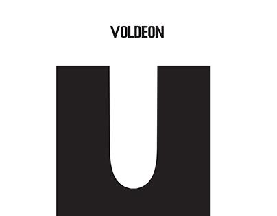 Voldeon font posters