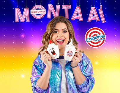 Chiquinho Sorvetes - Campanha Monta Aí 2019