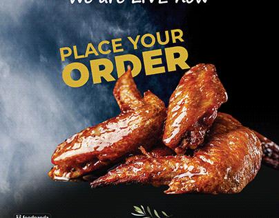 #Chicken #Burger #spaghetti #fried rice zaitoonfood
