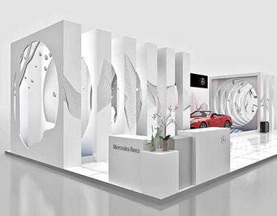 Mercedes-Benz SLC Dream Car Display Design 12-2016