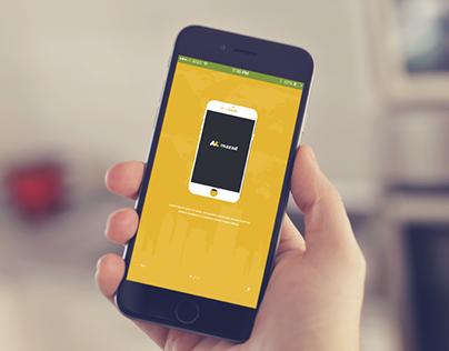 Mazadat App Design live bidding