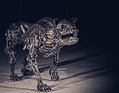 "Biomechanic dog NO.:3 ""Amelia"" (2017)"