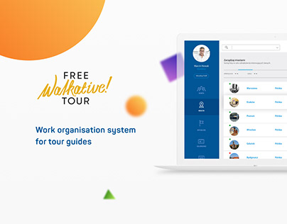 Work organisation system for tour guides