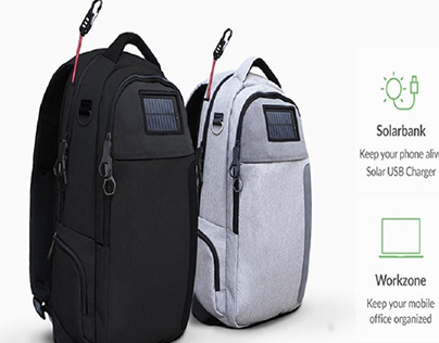 Anti-Theft USB Charger Backpacks