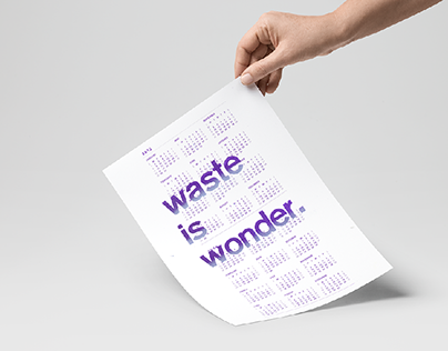 waste is wonder
