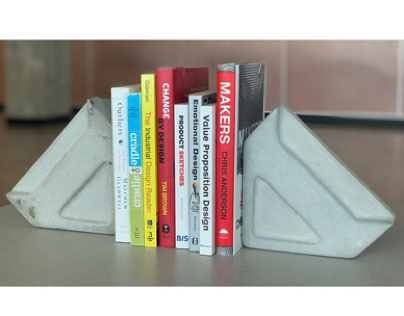 Thermoformed Bookend Project