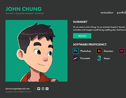 John Chung's Portfolio