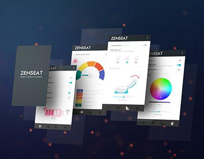 ZENSEAT App - UX/UI Design