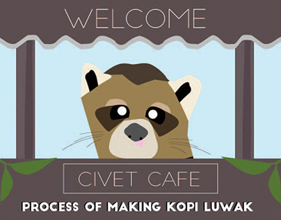 CIVET COFFEE ILLUSTRATION